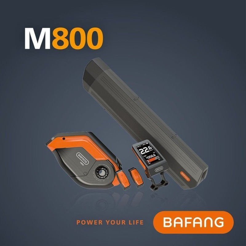 The M800 is BAFANG's New Super-Compact Center Drive Unit