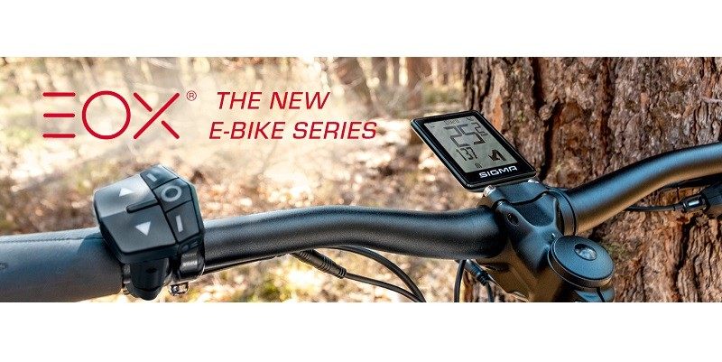 Sigma Sport Presents the New EOX Series for the E-Bike Market