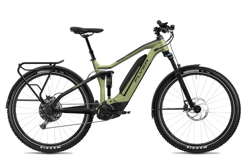 FLYER Crossover e-Bikes for the 2020 Model Year – Brand New Goroc Series
