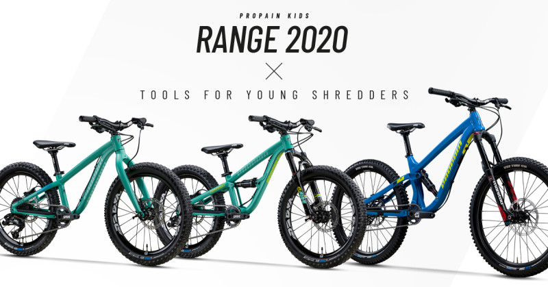 Propain Proudly Present: New Kids Range for 2020