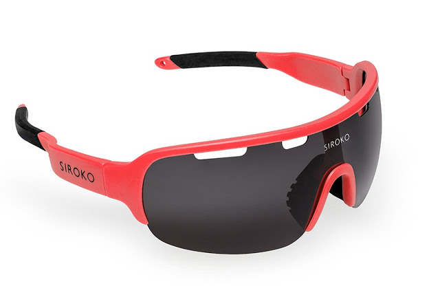The New K2 Cyclocross Sport Sunglasses from Siroko Tech
