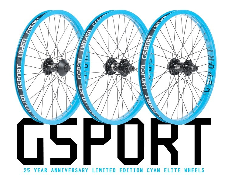 GSport BMX - 25th Year Anniversary / Limited Edition Cyan