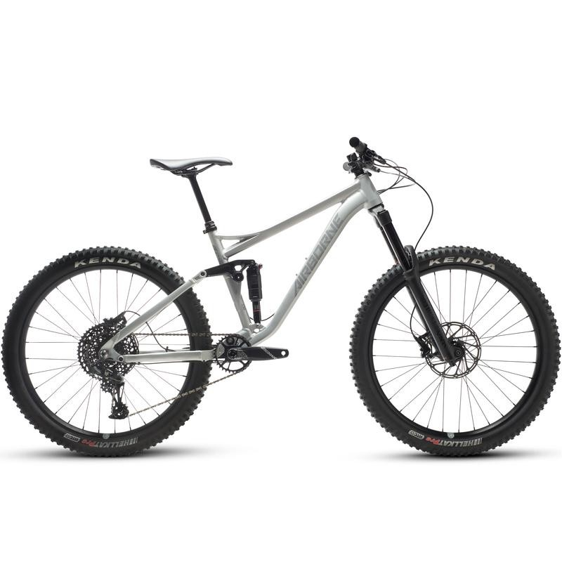 "Go Anywhere on the Airborne Plague 27.5"" Full Suspension Enduro"