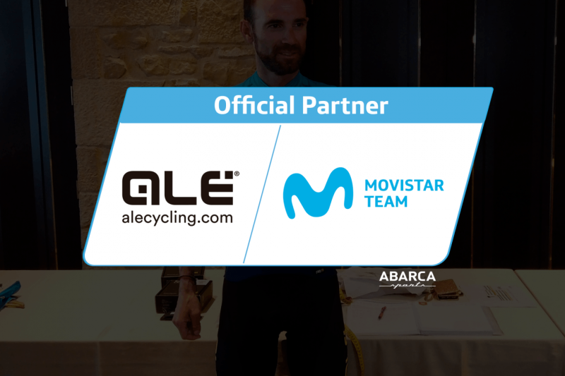 Alé Cycling Partners with the Movistar Team for its 2020 Jersey