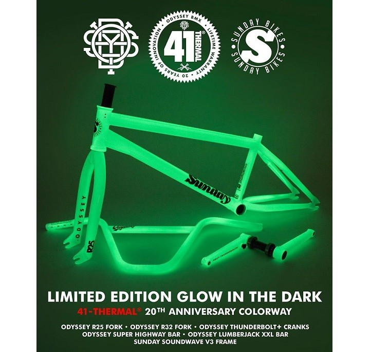 41-Thermal - 20th Anniversary Limited Edition Glow in the Dark Kit