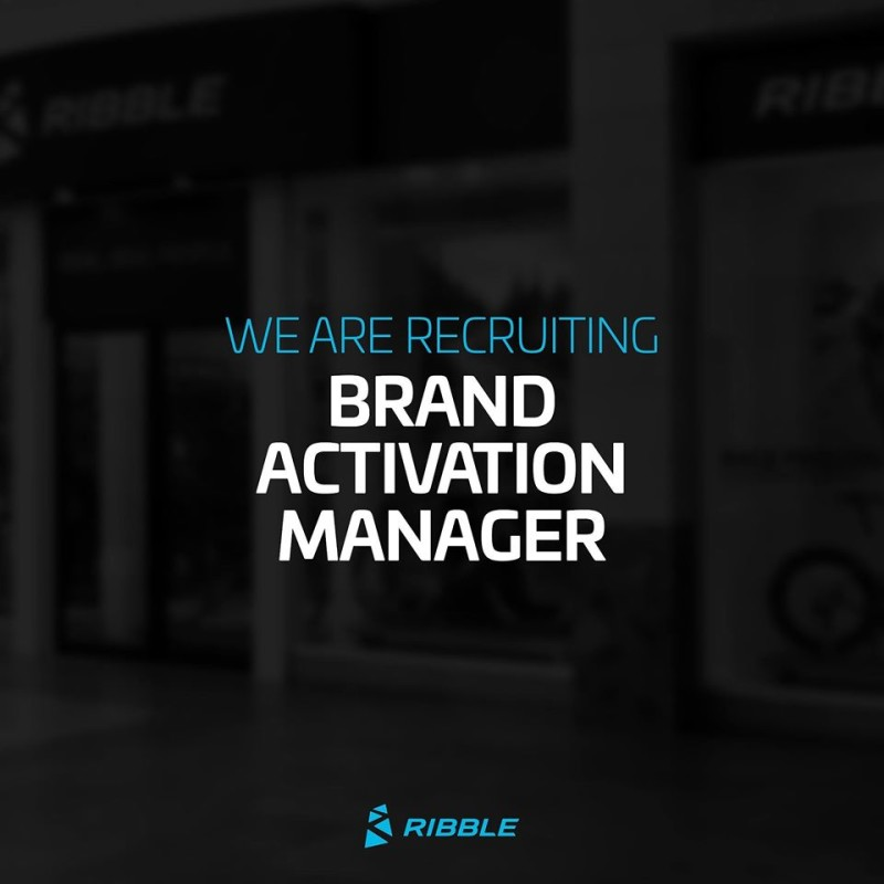 Job Offer by Ribble Cycles - Brand Activation Manager
