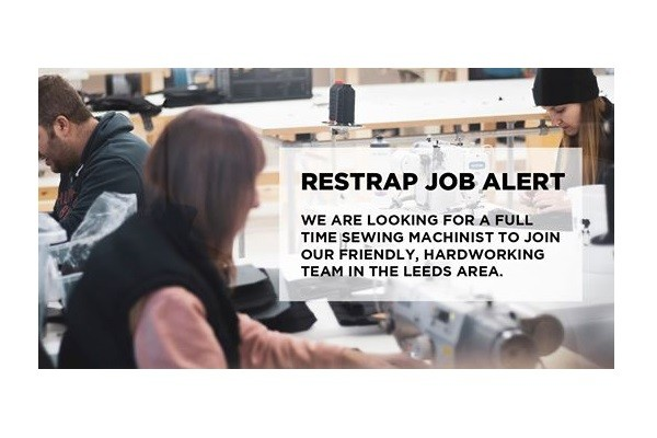 Job Offer by Restrap - Sewing Machinist