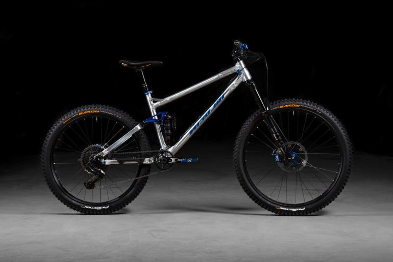 Nicolai's Interpretation of the Radical Trail Bike is Named the Saturn 14 ST