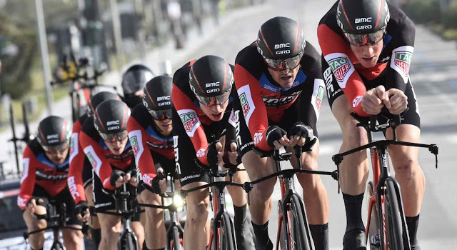 BMC Racing Team Wins Third Consecutive Team Time Trial at Tirreno-Adriatico