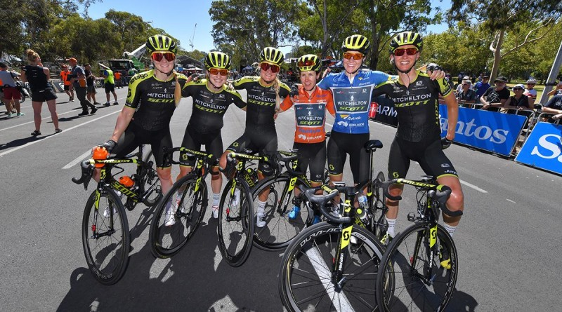 Mitchelton-SCOTT Expecting an Open Race in the Hunt for More History at Women's Tour Down Under