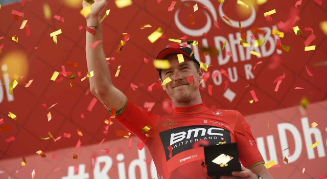 BMC Racing Team Dominate Abu Dhabi Tour Stage 4 as Dennis Moves into Leader's Jersey