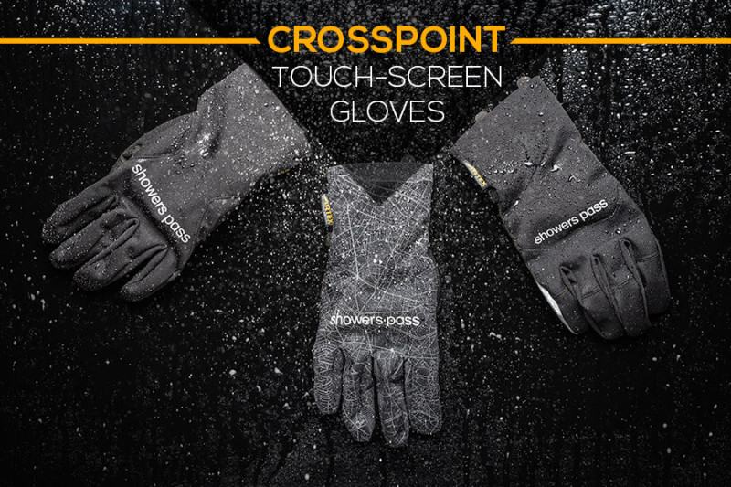 New and Improved Showers Pass Gloves Have Arrived!