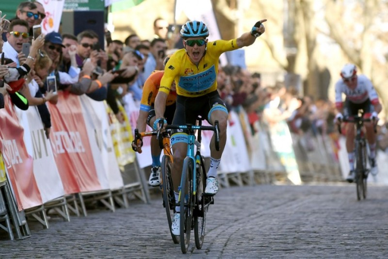 Vuelta a Andalucía. Stage 3. Jakob Fuglsang Streaks to his Second Stage Win on a Punchy Uphill Finish in Ubeda