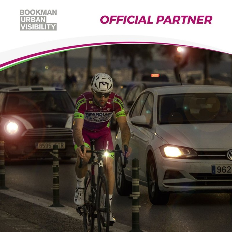 Bookman will be Official Partner of the Bardiani CSF Faizanè Pro Team for the Road Safety
