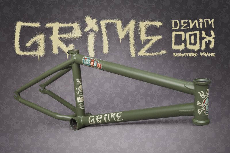 The Grime is the Latest Frame from BSD