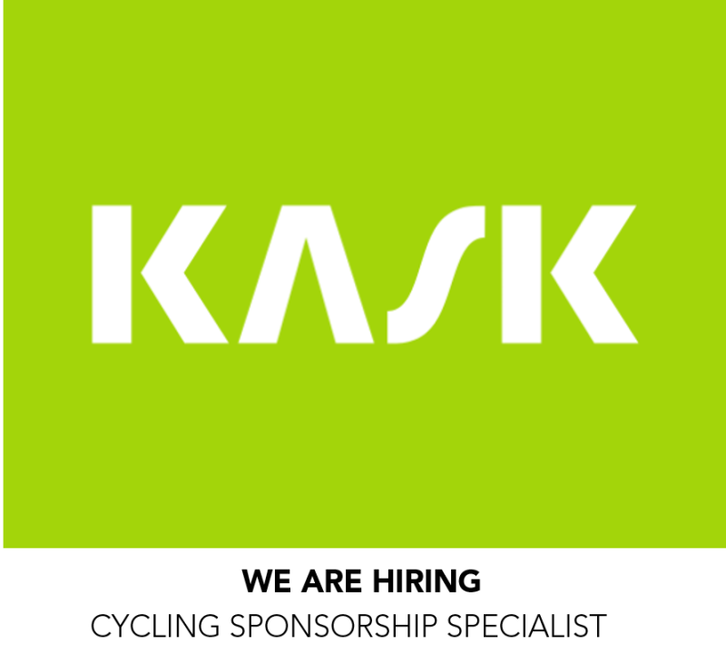 Job Offer by Kask - Cycling Sponsorship Specialist