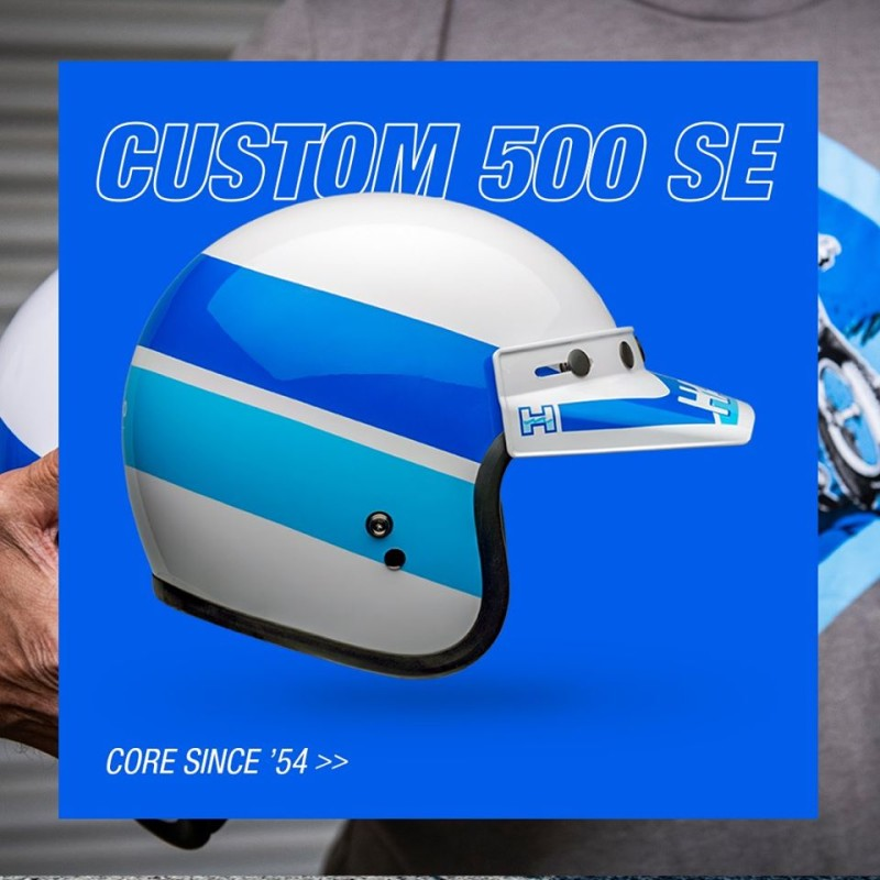 Limited-Edition Custom 500 SE Bob Haro Design Helmet