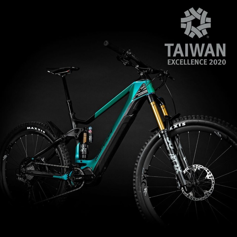 Taiwan Excellence Award for the Merida eONE-SIXTY