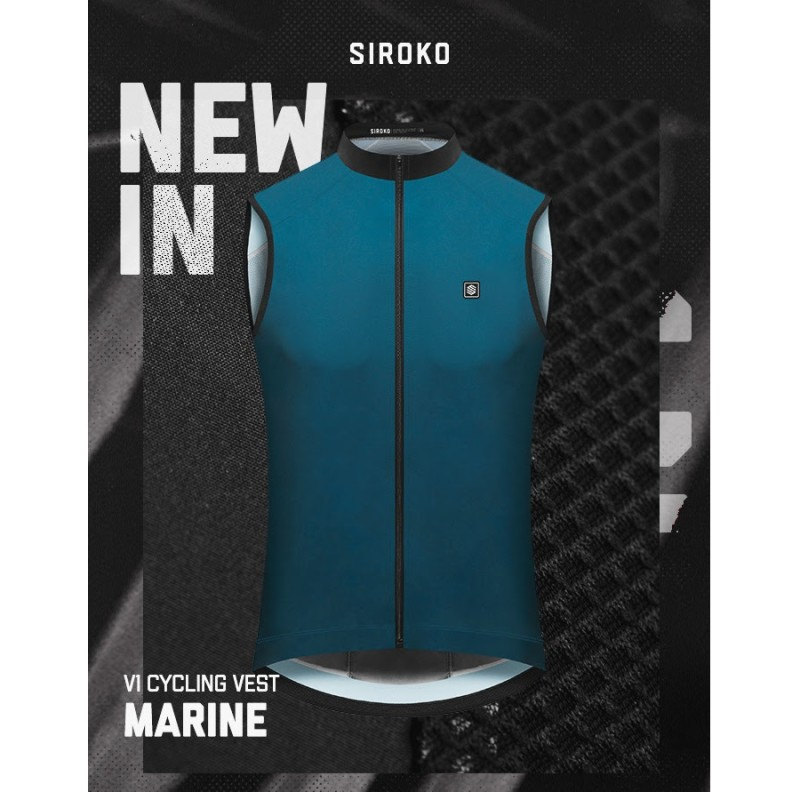 Out Now: New Siroko V1 Cycling Vest