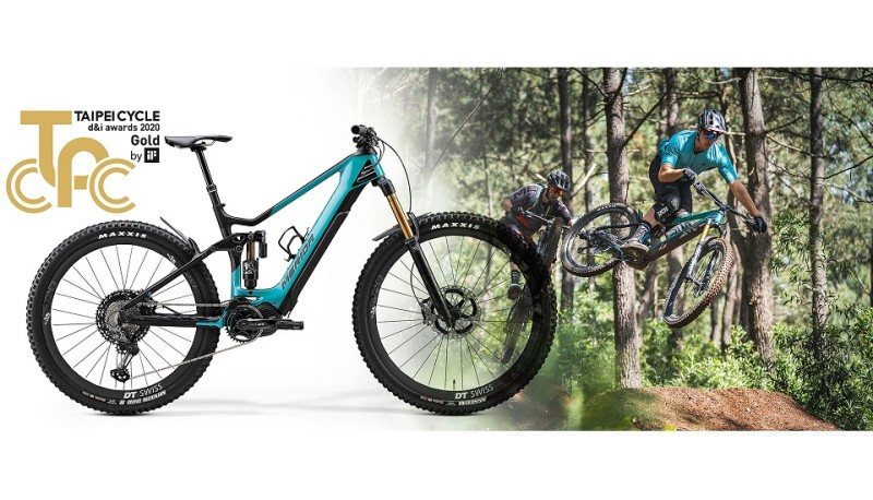 Merida eONE-SIXTY to Win TAIPEI CYCLE d&i GOLD Award 2020