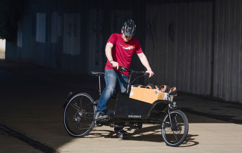 There Has Never Been a Better Time to Ditch the Car - New Ridgeback Cargo-E