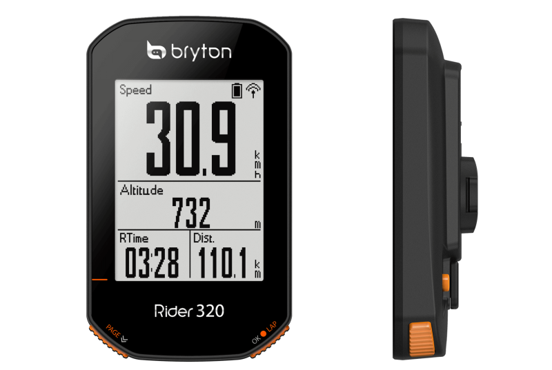 Bryton Inc Announced the New Rider 320 GPS Cycle Computer