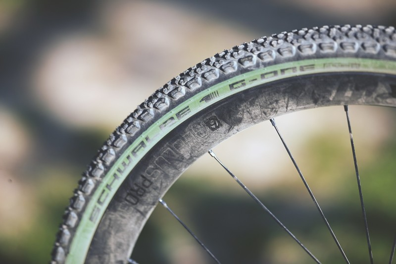 Gravel in Green: Schwalbe's Special Edition Tire in Olive-Skin