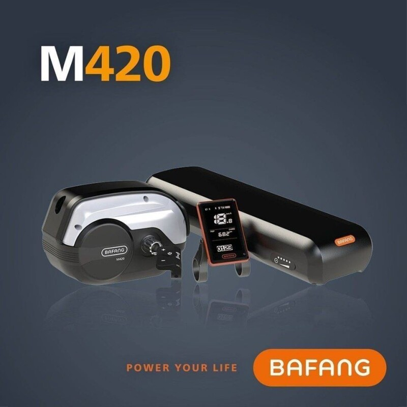 Clean. Compact. Dynamic. The New Bafang M420 Drive System