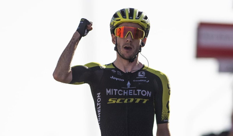 British Rider Adam Yates Signs for the INEOS Grenadiers