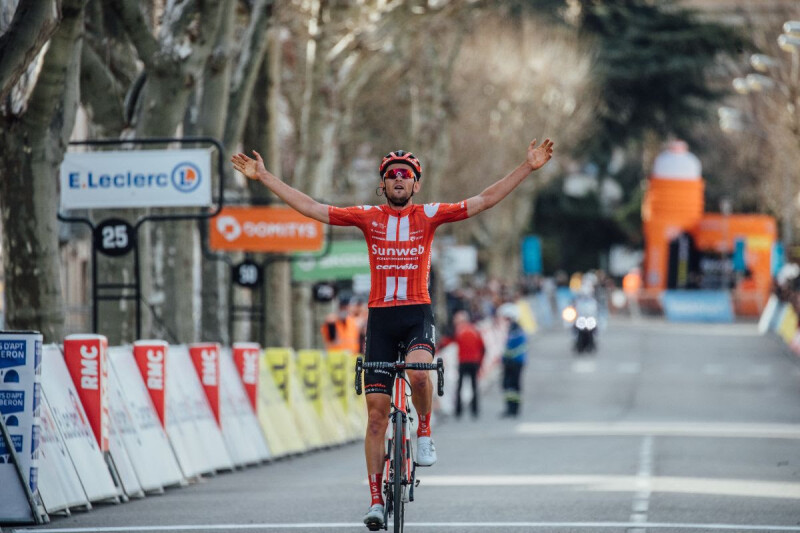 Team Sunweb Renew Contract with Tiesj Benoot Until the End of 2022