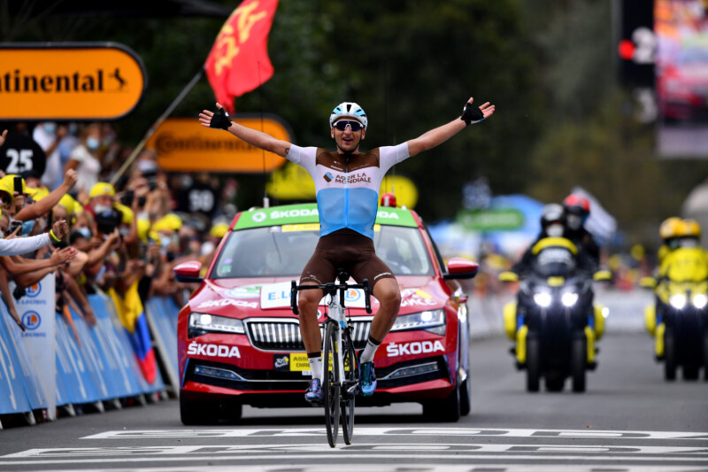 Tour de France (Stage 8) - Victory for Nans Peters