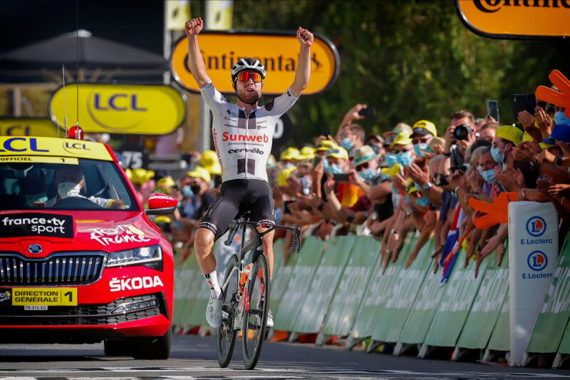 Team Sunweb Continue their Winning Streak with a Tour de France Stage Win