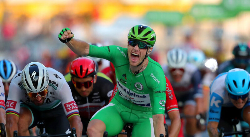 Sam Bennett Wins Tour de France Green Jersey