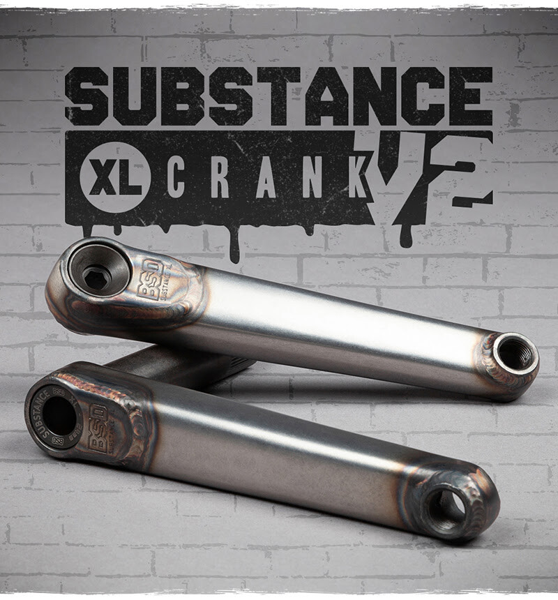 New BSD Substance XL V2 Cranks