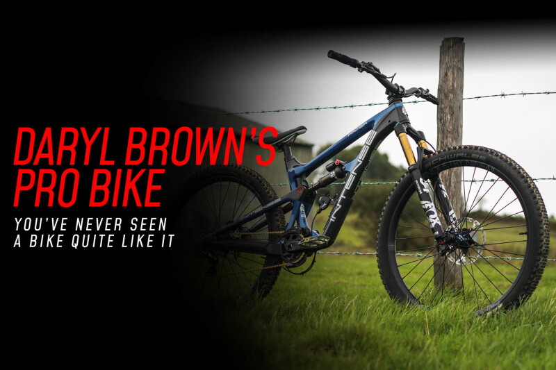 Pro Bike: Daryl Brown's Intense Primer 275 - A Very Special Bike