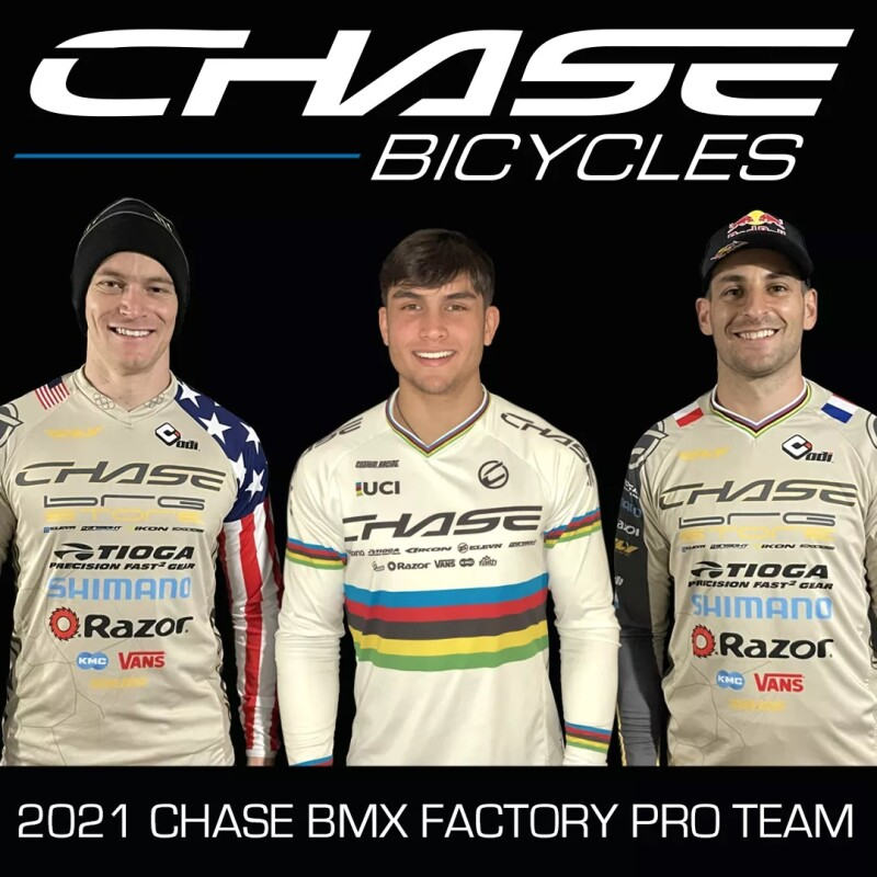 2021 Chase BMX Factory Pro Team Announced