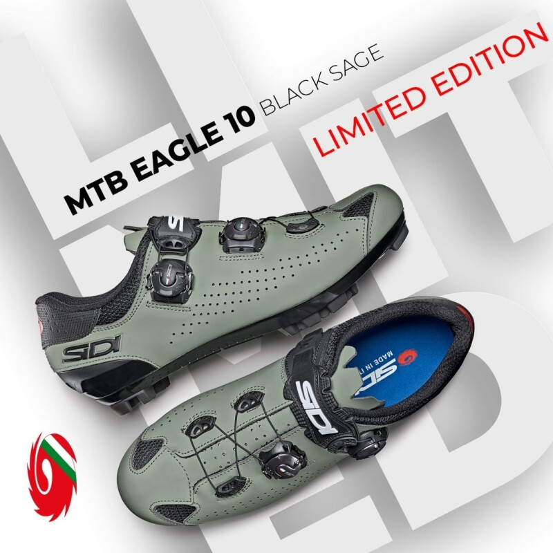 Sidi MTB Eagle 10 Black Sage, A New Ltd Color for 2021