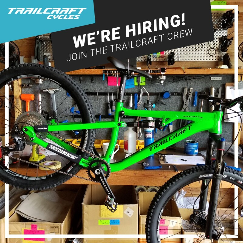 Job Offer By Trailcraft Cycles - Sales and Customer Service Coordinator