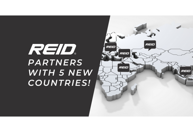 Reid is Now Available in 5 New Different Countries