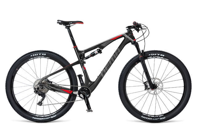 New Quark Full Suspension Bike from DEMA Bicycles
