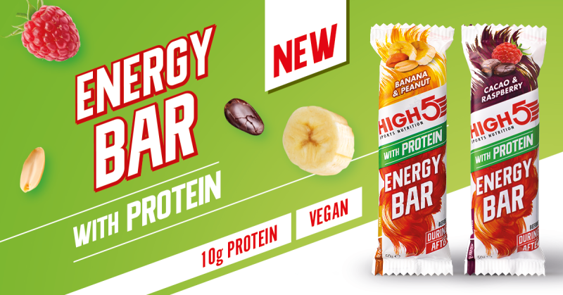 New HIGH5 Sports Nutrition Energy Bar with Protein