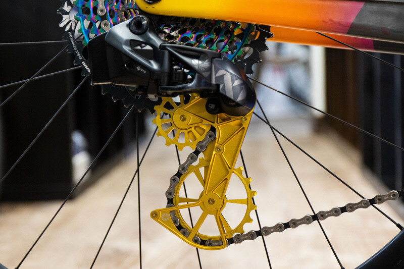 Going BIG: Oversized Derailleur Cages for Mountain Bikes