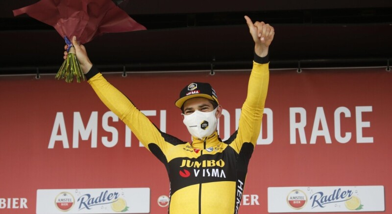 Van Aert Wins Amstel Gold Race After Nerve-Racking Millimetre Sprint