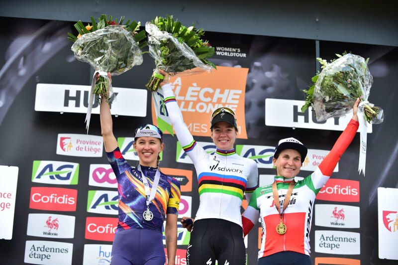 The 7th Win for Anna van der Breggen in La Flèche Wallone