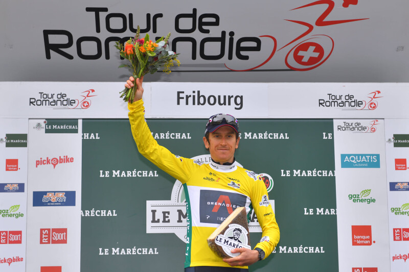 Geraint Thomas Wins the Tour De Romandie