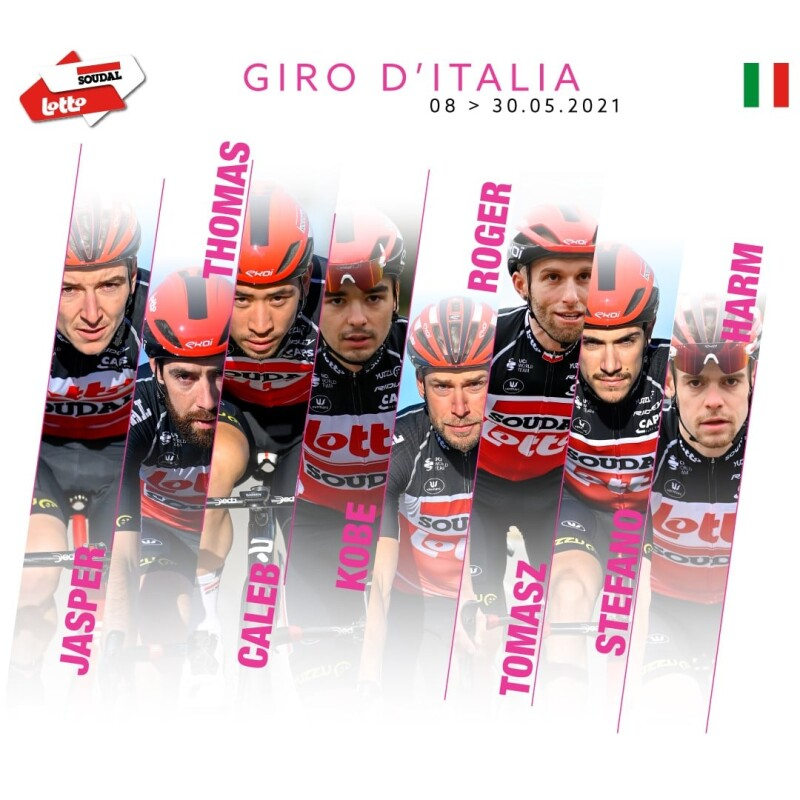Lotto Soudal Targets Stage Success at 104th Giro d'Italia