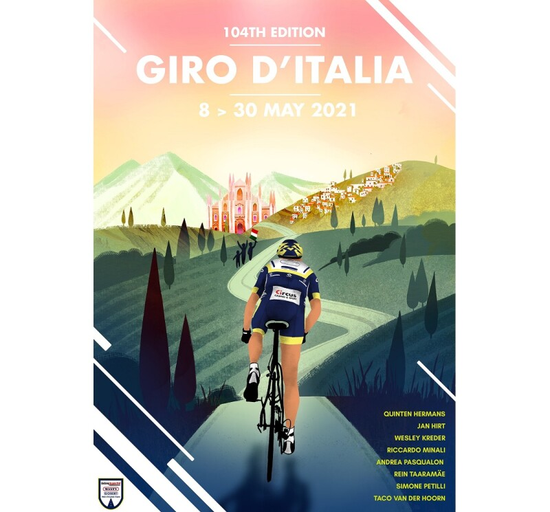 Giro d'Italia - V. Piva: «Leave our Footprint on this Race»