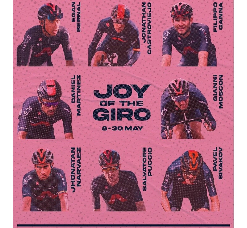 Giro d'Italia Roster Announcement