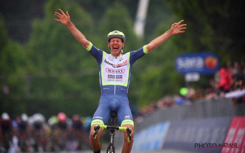 Giro d'Italia (3): Historic Win for Taco van der Hoorn and Intermarché-Wanty-Gobert Matériaux