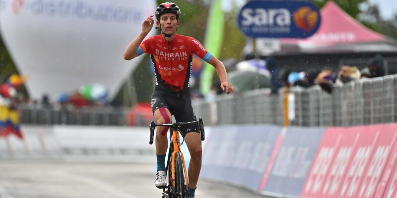 Gino Mader has Won in Ascoli Piceno (San Giacomo), Attila Valter Taking the Maglia Rosa!